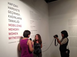 """DAY FIVE REPORT: """"Women Mobilizing Memory"""" Workshop in Istanbul, Turkey"""