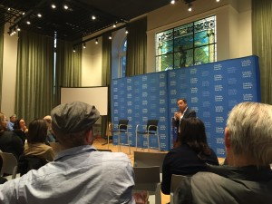 "LECTURE: Ron Suskind on ""Narratives of Earned Hope: Or the Ways Adversity Can Build Compensatory Strengths"""