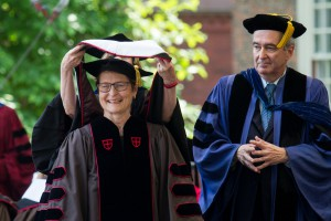 Jean Howard Awarded Honorary Doctorate from Brown University