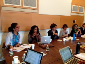 """Concept Histories of the Urban"" Workshop Concludes Gender and the Global Slum Project"